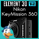 Nikon KeyMission 360 for Element 3D - 3DOcean Item for Sale