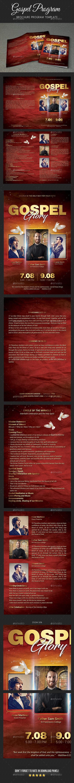 Gospel Program Brochure - Informational Brochures