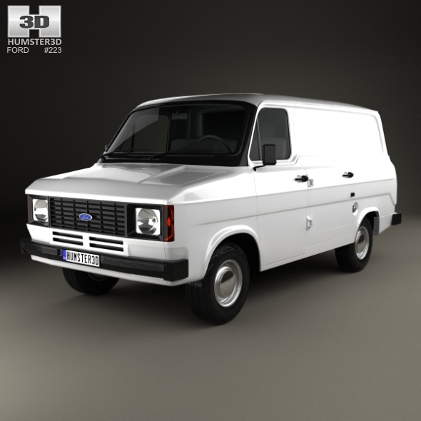 Ford Transit Panel Van 1978 - 3DOcean Item for Sale