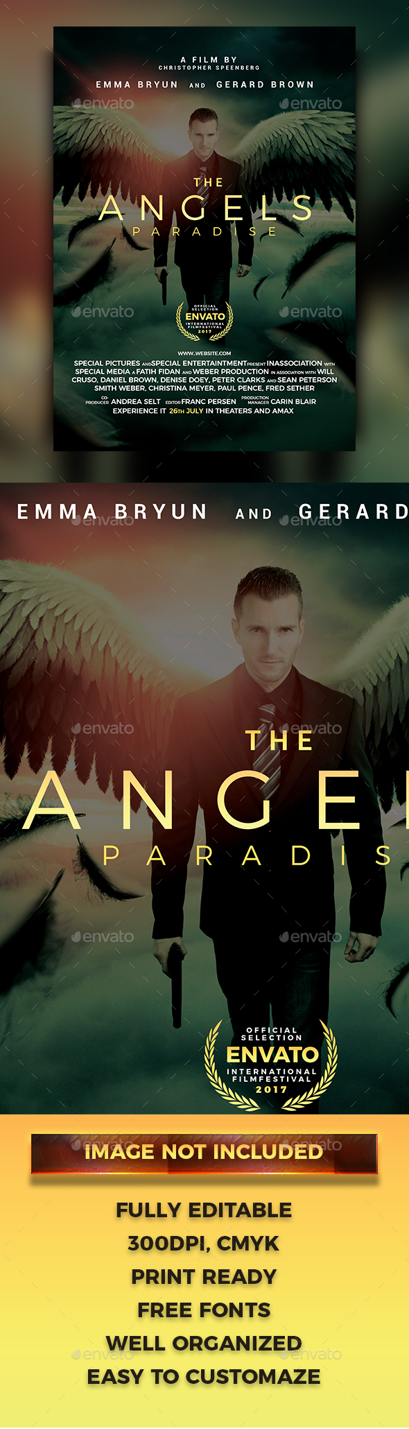 GraphicRiver The Angels Paradise Poster Flyer 20558359