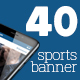 40 Instagram Sports Banner - GraphicRiver Item for Sale