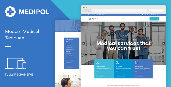 Medipol | Medical HTML Template - Health & Beauty Retail