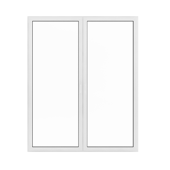 White Window (209.5 x 171 cm) - 3DOcean Item for Sale