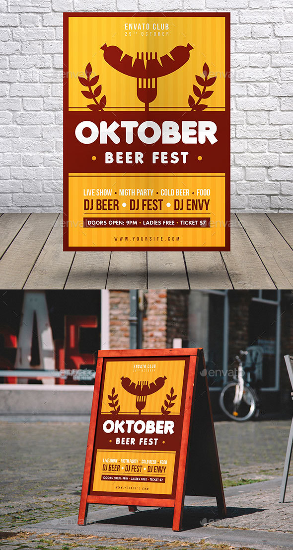 GraphicRiver Oktoberfest Flyer 20591905