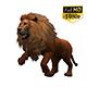 3D Lion Animation 7