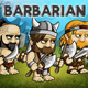 Barbarian 2D Game Character Sprite Sheet - GraphicRiver Item for Sale