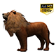 3D Lion Animation 10
