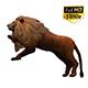 3D Lion Animation 11