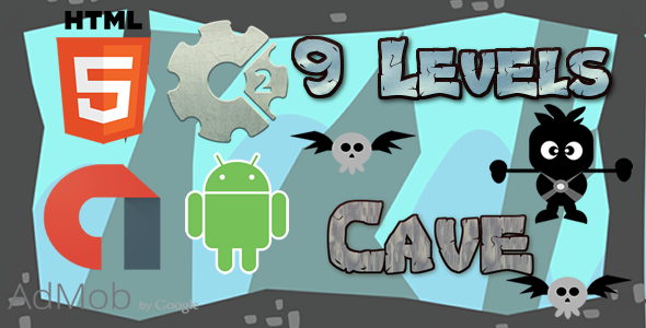 Download Cave - HTML5 Game (CAPX)