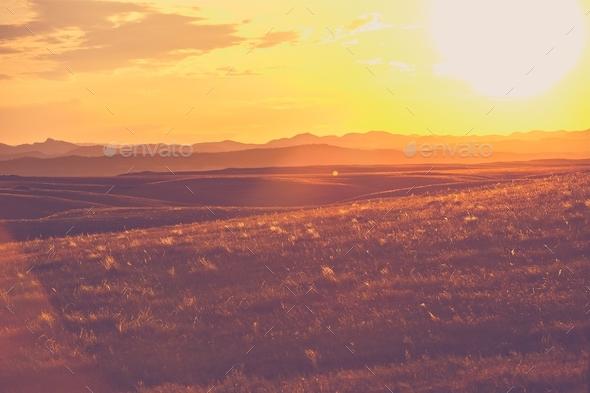 South Dakota Prairies - Stock Photo - Images