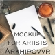 Mockup for Artists