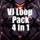 Spider Space Vj Loop Pack 4 In 1 - VideoHive Item for Sale
