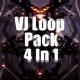 Spider Space Vj Loop Pack 4 In 1 - VideoHive Item for Sale
