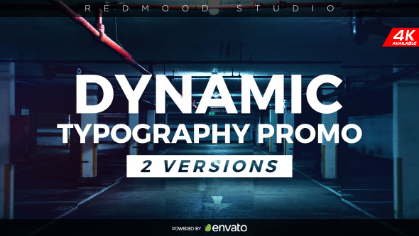 Dynamic Typography Promo