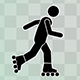 Stick Figure Skateboard And Roller Skates - VideoHive Item for Sale