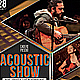 Acoustic Show Flyer/Poster - GraphicRiver Item for Sale