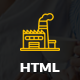 Factories - Industrial Business HTML Template