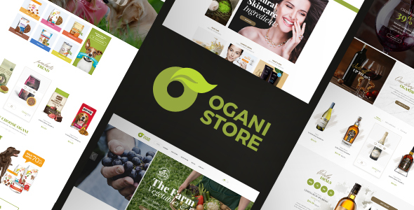 Ogani - Organic, Food, Pet, Alcohol, Cosmetics Responsive Opencart Theme