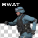 SWAT Run Animation