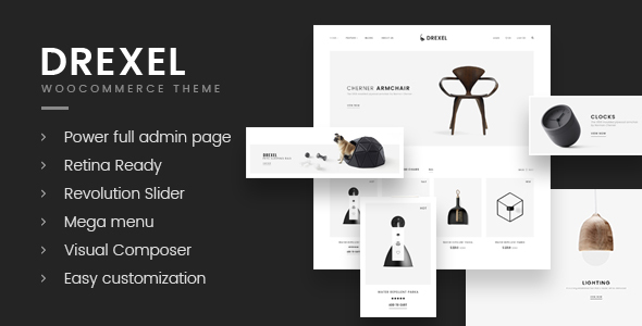ThemeForest Drexel WooCommerce Responsive Fashion Theme 20457022