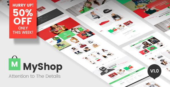 MyShop - Multipurpose Shopify theme - Shopify eCommerce