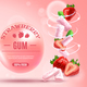 Strawberry Bubble Gum Composition