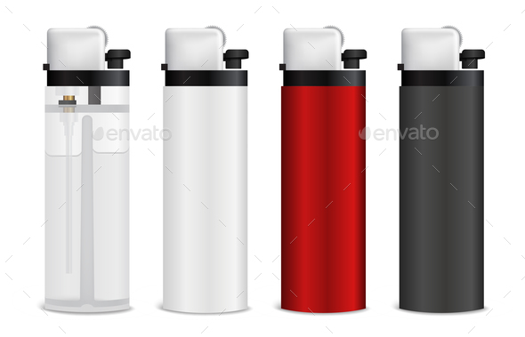 GraphicRiver Realistic Lighters Set 20594420