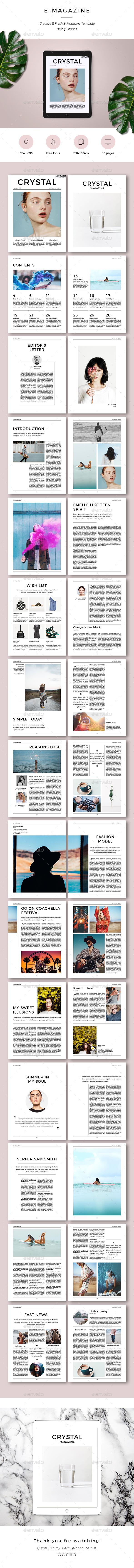 Crystal E-Magazine - Digital Magazines ePublishing