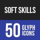 Soft Skills Glyph Icons