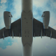 Flight of an Airplane - VideoHive Item for Sale