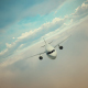 Aircraft Flight - Morning And Evening - VideoHive Item for Sale