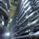 Endless Curving Pipes at a Dairy Factory - VideoHive Item for Sale