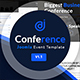 JD Conference – Advanced One Page Joomla Event Template
