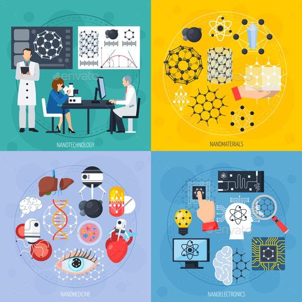 GraphicRiver Nanotechnologies Design Concept 20595533