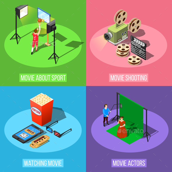 Movie Production Design Concept - Media Technology