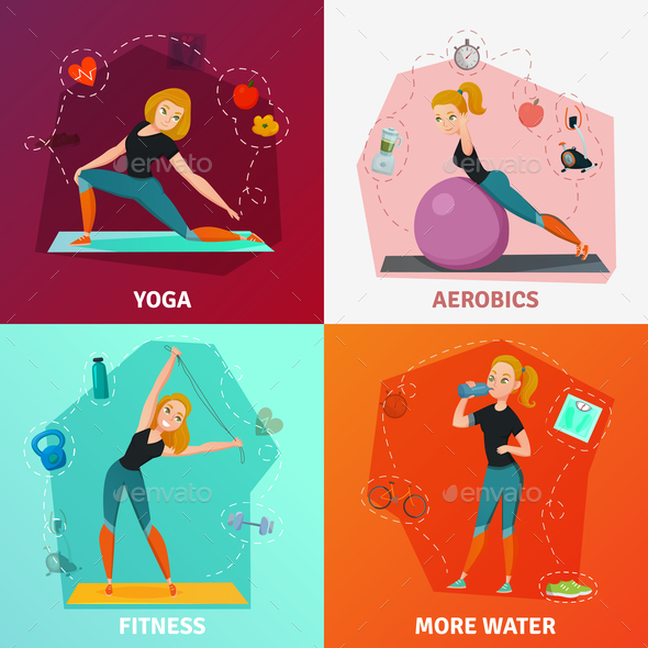 Healthy Lifestyle Concept - Sports/Activity Conceptual