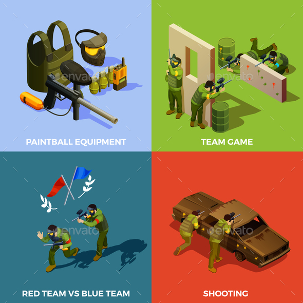 Paintball Team Design Concept - Sports/Activity Conceptual