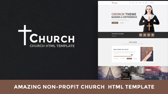 Church - Nonprofit HTML Template - Churches Nonprofit