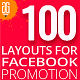 100 Facebook Promotion Banners - GraphicRiver Item for Sale