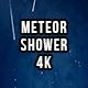 Perseid Meteor Shower 4K