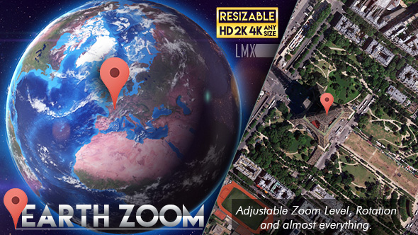 Earth zoom by limxona videohive play preview video download preview gumiabroncs Images