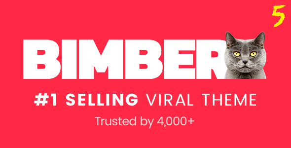 Bimber - Viral Magazine WordPress Theme