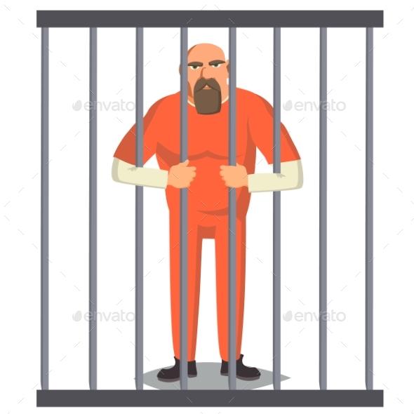 Prisoner Man - People Characters