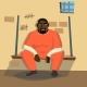 Prisoner Man Vector