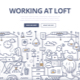 Working at Loft Doodle Concept - GraphicRiver Item for Sale