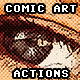 Comic Art Actions - GraphicRiver Item for Sale