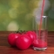 Pouring Fresh Tomato Juice Into Glass - VideoHive Item for Sale
