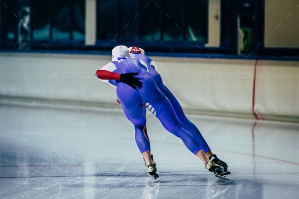 Men athletes skater - Stock Photo - Images