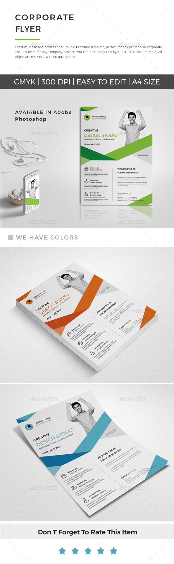 GraphicRiver Corporate Flyer 01 20596415