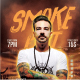 SmokeFest DJ Flyer Template